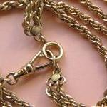 Stunning Vintage Watch Fob Necklace